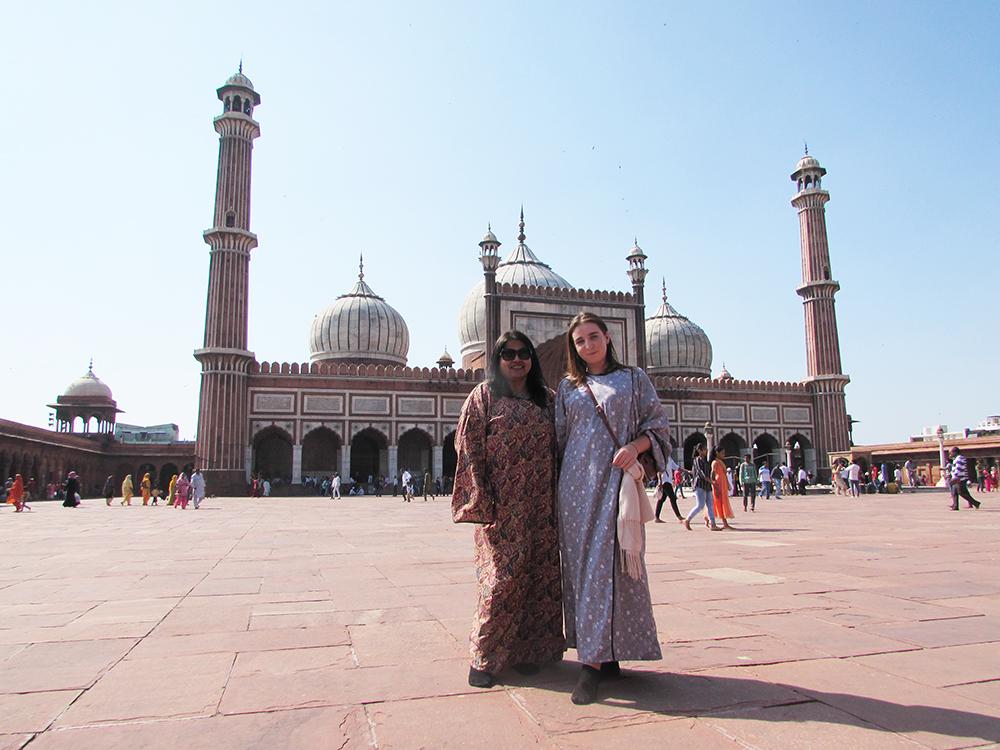 Delhi on a tour of India