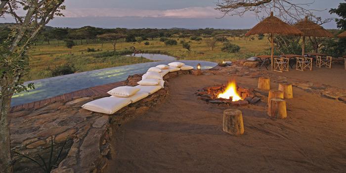 Singita Faru Faru Lodge - Romantic evening