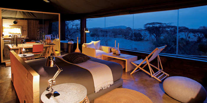 Singita Faru Faru Lodge - Suite view