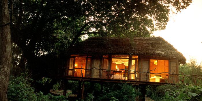 Treehouse at &Beyond Lake Manyara Tree Lodge in Tanzania