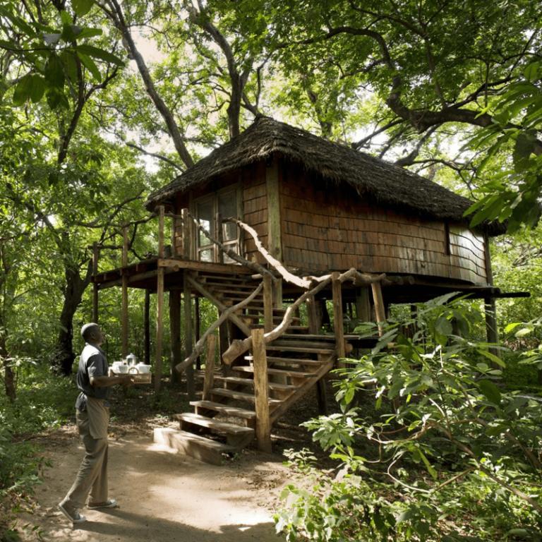 A beautiful guest lodge in Africa