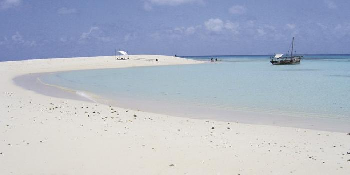 Beautiful beach at Pole Pole, Zanzibar