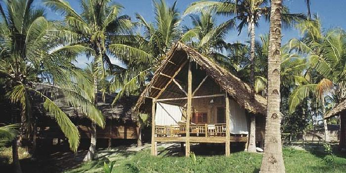 Accommodation at Pole Pole Island Resort