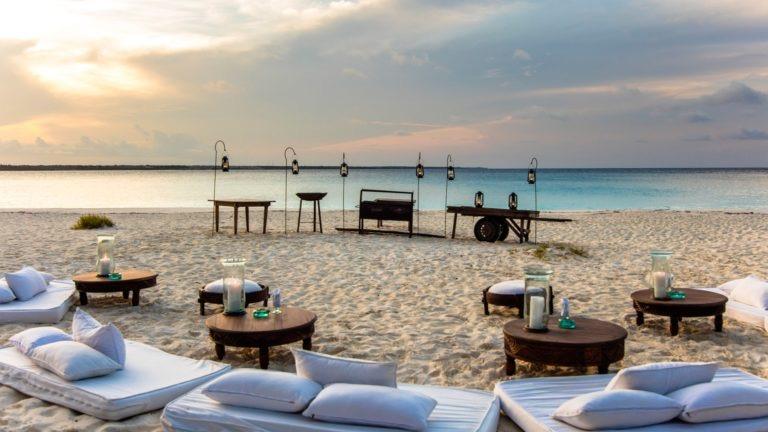 Dusk at &Beyond Mnemba Island, Zanzibar